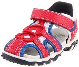 Naturino 258 Sandal (Toddler/Little Kid),Gum/Rete Rosso/Bianco,25 EU (9 M US Toddler)