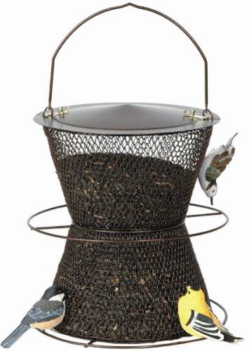 No/No Bronze Hourglass Bird Feeder  BZHG00325