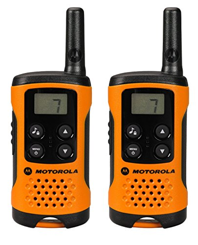 Motorola TLKR T41 PMR Funkgerät mit LC-Display orange