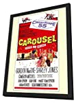 Carousel 27 x 40 Movie Poster - Style A - in Deluxe Wood Frame