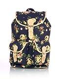 Shaun Design Blue Floral Backpack