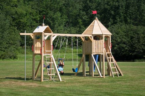 Cedarworks Frolic 21 Swing Set