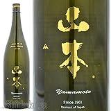 秋田県 山本合名 白瀑 山本 ( やまもと ) 純米吟醸 瓶燗火入れ 急速冷却 低温貯蔵 1800ml