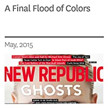 A Final Flood of Colors (       UNABRIDGED) by Jason Guriel Narrated by Derek Shetterly