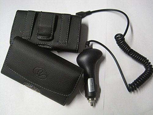 Samsung S5630C Phone Leather With Hard / Skin Jel Hybrid Cover Case + 2X Wall Charger + Car Charger
