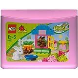 レゴ デュプロ 基本セット ピンクのコンテナ 4623
