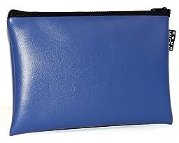 MDM Deposit Bag / Money Bag Blue (13x9 inch)