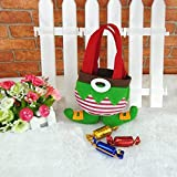 Christmas Candy Gift Bag Ornament Elf Pants Decoration Supplies