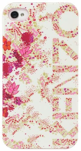Coque Kenzo Nadir motif fleuri rose pour iPhone 3G/3GS