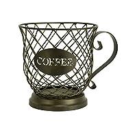 Boston Warehouse Large Mug Kup Keeper Storage for Coffee and Espresso Pods