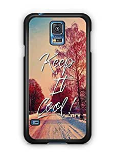 YuBingo Keep It Cool Designer Mobile Case Back Cover for Samsung Galaxy S5