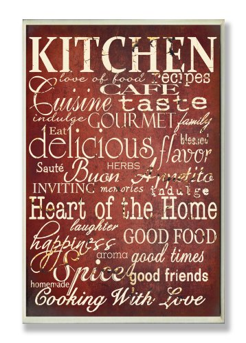 The Stupell Home Decor Collection Words in the