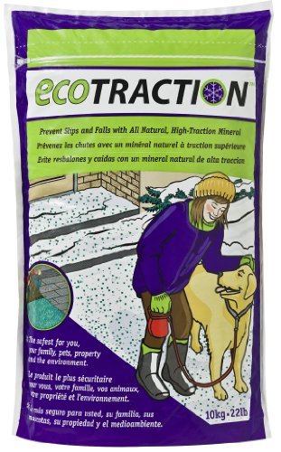 Review EcoTraction ET10R All Natural Volcanic Mineral Ice Traction Granules - 22 Pound Bag