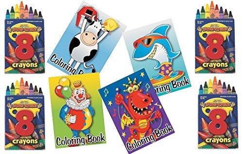 84-piece-Kids-Coloring-Pack-Party-Favor-Bundle-36-Coloring-Books-48-Crayons-6-8-piece-Boxes