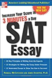 img - for Increase Your Score in 3 Minutes a Day: SAT Essay book / textbook / text book
