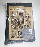 【簡易包装版】キャット・トラピーズ・オリジナル グレー 2ピロータイプ クッション無し 吊るすタイプのキャットタワー