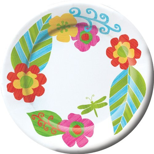"Banquet Plate, 11"" Wide Rim Marabella (8 per package) - 1"