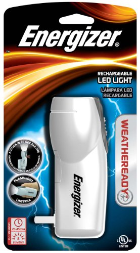 Energizer Weather Ready Compact Rechargeable Led Light front-857371
