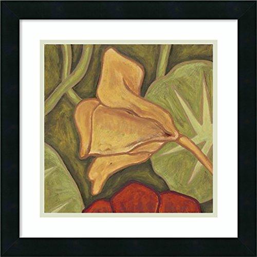 Framed Art Print 'Vibrant Rainforest II' by Karen Deans