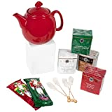 Holiday Teas, Teapot and Cookies