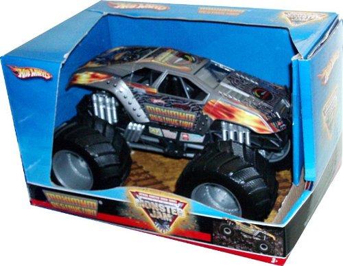 hot wheels monster jam 1 24 scale die cast official monster truck 2008