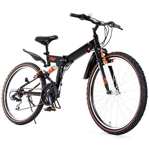 DOPPELGANGER 26インチ フォルダブルオフロードバイク 独自開発アイビーム・フレーム採用モデル X-ROUNDシリーズ ROAD BLOCK 712