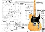 フェンダー・テレキャスター エレキギター Fender Telecaster(プリント実物仕様)