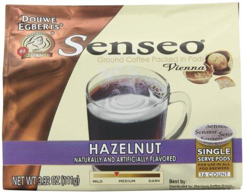 Senseo Coffee Pods, Vienna Hazelnut Waltz, 16 Count (Pack of 4) (Senseo Hazelnut Coffee Pods compare prices)