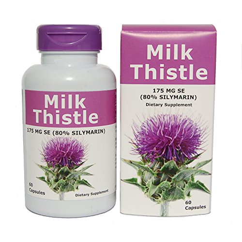 Carrigreen PureMilk Thistle Extract Premium Liver Cleanse-Improves Liver Function-Contains Powerful Antioxidants-Maximum Strength-60