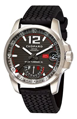 Chopard Men's 168457-3005 Mille Miglia GT XL Grey Power Reserve Dial Watch
