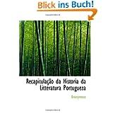 Recapitulação da Historia da Litteratura Portugueza
