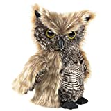 Folkmanis Screech Owl with Turning Head Hand Puppet