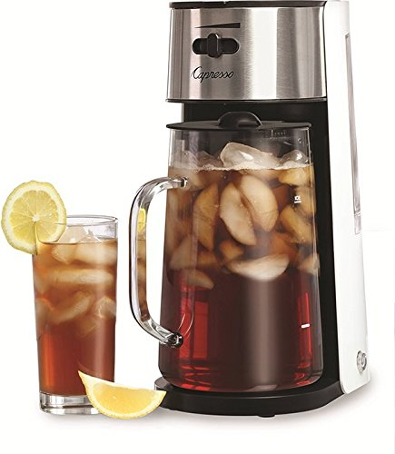 Capresso Stainless Steel Iced Tea Maker with Extra Tea Pitcher (Tea Maker One Touch compare prices)