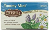 Celestial Seasonings Wellness Tea, Tummy Mint, 20-Count
