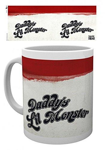 Set: Suicide Squad, T Shirt Tazza Da Caffè Mug (9x8 cm) E 1 Sticker Sorpresa 1art1®