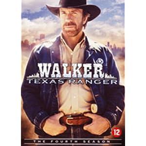 Walker. Texas Rangers: L'intégrale de la saison 4 - Coffret 7 DVD [Import
