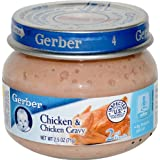 Gerber 2nd Foods Chicken and Chicken Gravy -- 2.5 oz