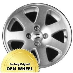 HONDA CIVIC 15×6 Factory Oem Wheel Rim- MACHINED FACE SILVER – Remanufactured