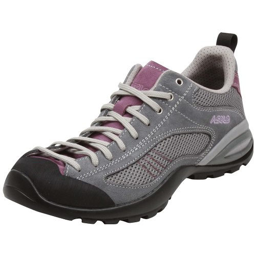 Asolo Women's Sunset Athletic Shoes,Grey/Grapeade,7.5 M US