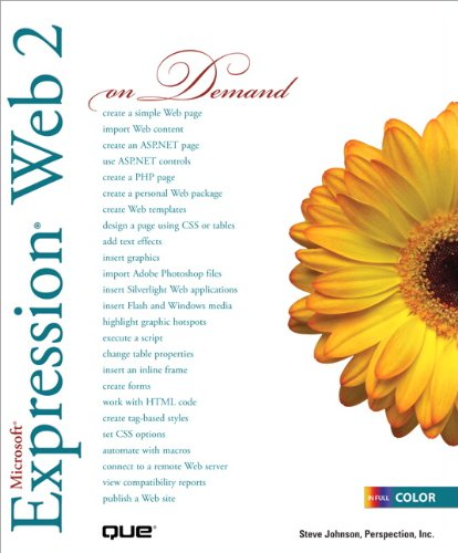 Microsoft Expression Web 2 On Demand (2nd Edition)