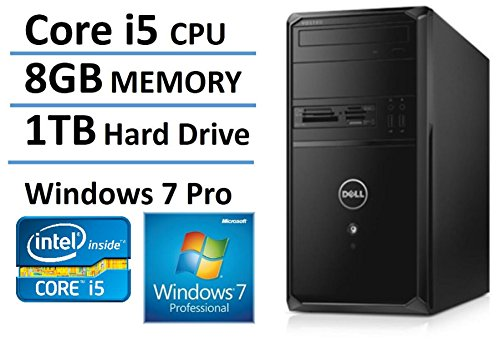 New Edition Dell Vostro High Performance Flagship Business Desktop, Windows 7/10