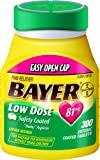 Bayer Baby Aspirin Regimen Low Dose 81mg, Enteric Coated Tablets, 300-Count