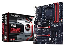 Gigabyte GA-970-Gaming AMD G1 Gaming Motherboard AMD 970 / SB950 / AM3+ Socket / DDR3 x 4 Dual Channel / PCI-Ex16 / ATX / USB 3.1 / GbE LAN/ Type-C / 7.1-CH HD Audio / High Definition Onboard Audio / Killer Ethernet E2200 / Fast Onboard 10GB/s M.2