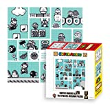Ensky Nintendo Super Mario Brothers 30th Anniversary Blue Mario Bros. 3 Jigsaw Puzzle (144 Piece)