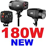 NEEWER 180W Strobe/Flash Light for Studio, Location and Portrait Photography
