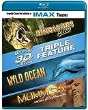 3-D Triple Feature: Dinosaurs Alive! / Wild Ocean / Mummies (IMAX) [Blu-ray]