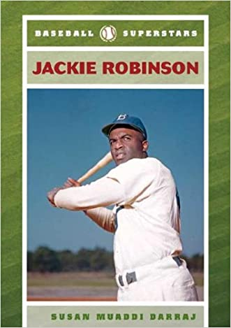 Jackie Robinson (Baseball Superstars (Hardcover))