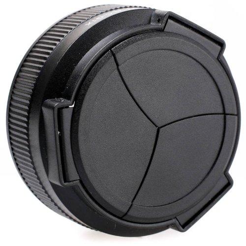 JJC ALC-G1X Automatik-Objektivdeckel (Schutzkappe, Schutzdeckel, Objektivkappe) für Canon Powershot G1X