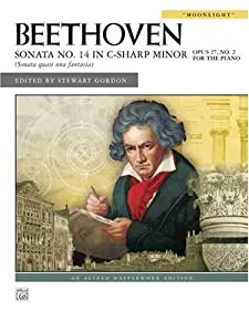Beethoven Sonata No 14 In C-sharp Minor Moonlight Op 28 Alfred Masterwork Editions from Alfred Publishing