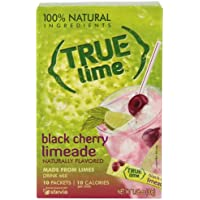10-Pack True Lime Limeade Stick 1.06oz Pack (Black Cherry)